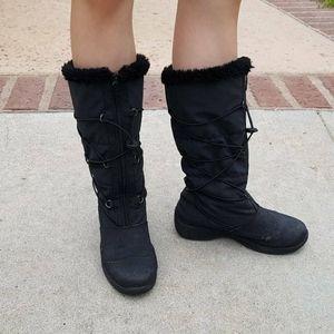 Totes black boots